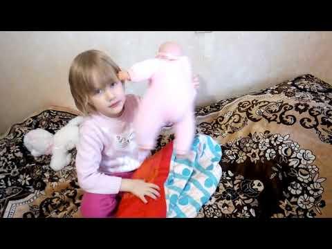 Как пеленать кукол