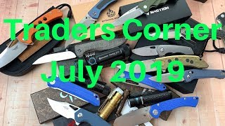 Traders Corner July 2019   Many important announcements and upcoming Sale !!