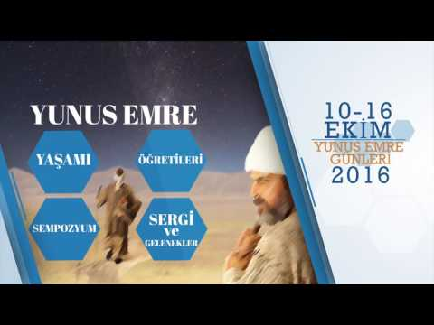 2. Uluslararası Yunus Emre Günleri Tanıtım