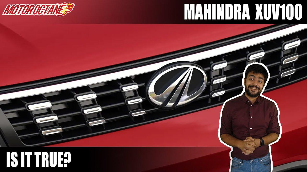 Motoroctane Youtube Video - Mahindra XUV100 & XUV900 - Coming by when?