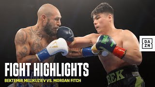 HIGHLIGHTS | Bektemir Melikuziev vs. Morgan Fitch