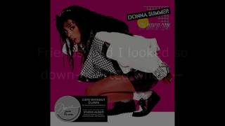 "Donna Summer - Supernatural Love (UK 12"" Single) LYRICS SHM ""Cats Without Claws"" 1984"