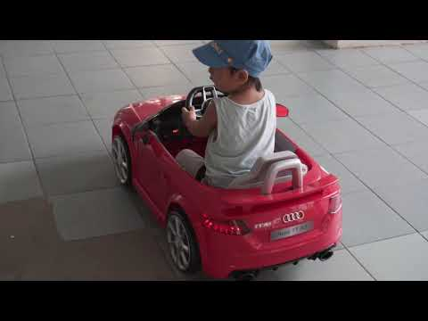 AUDI TT RS Electric: 2 years old driving