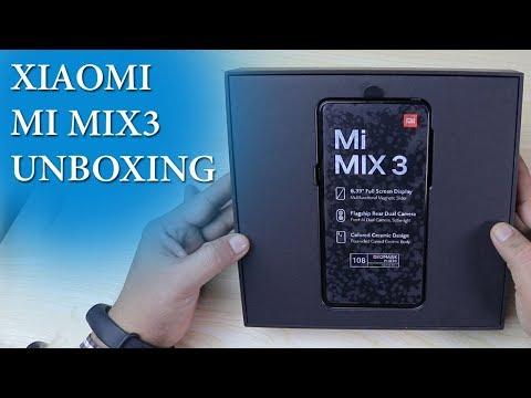 Xiaomi Mi Mix3 unboxing | Camera samples | Magical slider | Technology INN