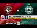Atlético-PR x Coritiba ao vivo online - Atletiba 19/02/2017