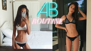 HOW TO GET ABS // AB WORKOUT ROUTINE   Nil Sani