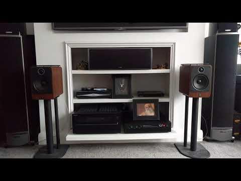 Q Acoustics 2020 Hi Fi bookshelf speakers sound test – you decide :)