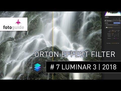 Luminar 2018 # 7: Der Orton Effekt Filter | verträumter Bildlook für deine Landschaftsfotos