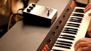 ARP Omni-2 through Electro-Harmonix Bad Stone