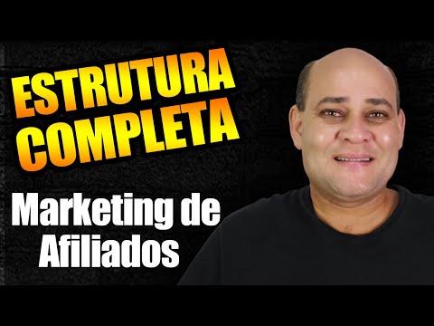 Estrutura Completa de Marketing Digital para Afiliados