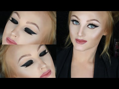 Dramatic Cat Eye | Hooded Eyes Makeup Tutorial