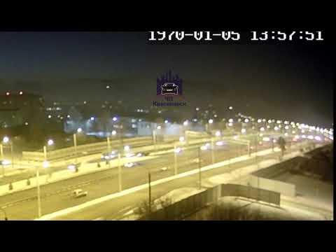 Николаевский проспект 24.01.2019 ЧП Красноярск видео