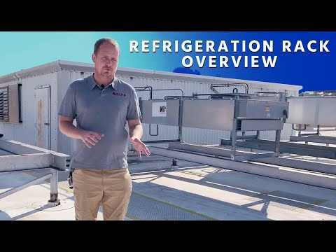 Refrigeration Rack Overview w/ Sped up Oil Change