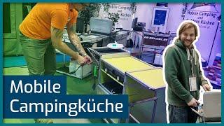 Klappbare Campingküche All-In-One! Go-Outside im Interview (CMT 2019, Stuttgart)