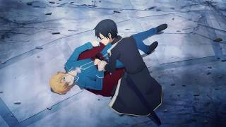 Sword Art Online Alicization Eugeo's Death [HD]