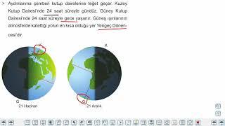 Eğitim Vadisi 9.Sınıf Coğrafya 3.Föy Dünya'nın Yıllık (Yörünge) Hareketi - İklim Kuşakları 2 (Özel Tarihler) Konu Anlatım Videoları