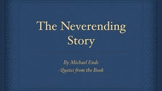 Aurynous Neverending Story Book Quotes