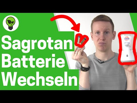 Sagrotan no touch Batteriefach Öffnen ✅ ULTIMATIVE ANLEITUNG: Wie Seifenspender Batterie Wechseln???