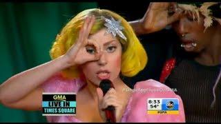 Lady Gaga   Applause (Live @ GMA) [HD]