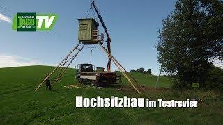 Profis Beim Kanzelbau Im DJZ Testrevier