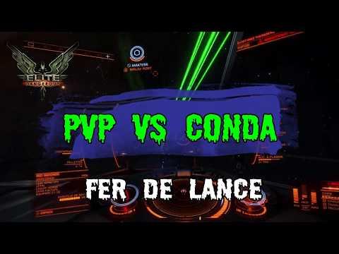 Viper III vs 2 FDLs and a Krait - Elite Dangerous PVP - смотреть