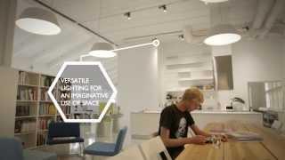 Endless Possibilities - Pentagon Design Helsinki LED Office Lighting Project