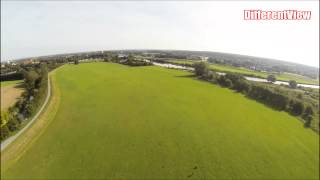 preview picture of video 'Erster FPV Flug bei Wurzen (Sachsen)'