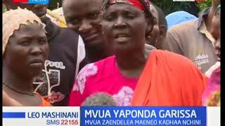 Watu 3,000 wahamishwa na mafuriko katika kaunti ya Garissa
