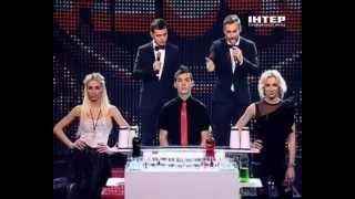 """Группа """"Дилайс"""" в шоу """"КРАСНОЕ и ЧЕРНОЕ""""."""