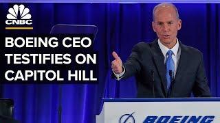 Boeing CEO Dennis Muilenburg faces Congress over 737 Max crashes – 10/29/2019