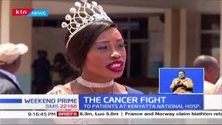 THE CANCER FIGHT : Young cancer ambassador joins drive to show love to patients at Kenyatta Hospital