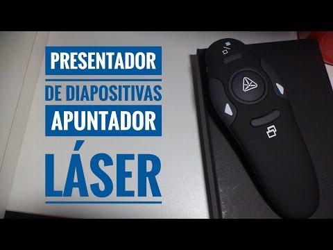 Presentador de Diapositivas Apuntador Laser