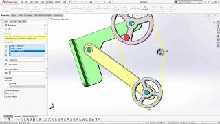 SOLIDWORKS - Belt Chain Assembly Feature