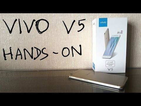 Vivo V5 Review Unboxing & quick Hands on Nothing Wired
