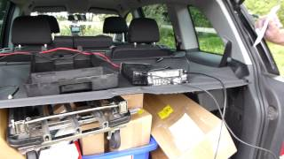 preview picture of video 'G7VQV talking to K1IED up Peperbox hill portable.'