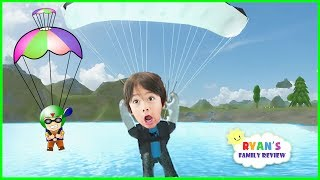 ROBLOX Skydiving Simulator! Let's Play Roblox with Ryan's Family Review