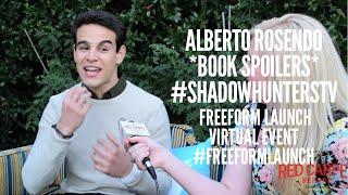 Alberto Rosende talks the Shadowhunter books