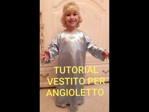 Tutorial come realizzare il vestito per angioletto o pastorello per la recita di Natale asilo