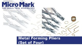 How To Use The Metal Forming Plier Set To Bend Any Shape You Need!