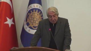 Prof.Dr.  Metin Kazancı - 156. Kuruluş Yıldönümü Konuşması