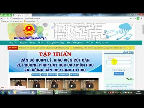 Hướng dẫn đổi mật khẩu cho giáo viên trên trang mạng Trường học kết nối