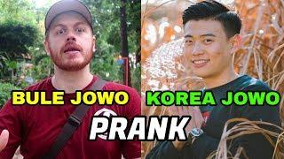 PRANK BULE JOWO DAN ORANG KOREA MEDOK (KOREA REOMIT)