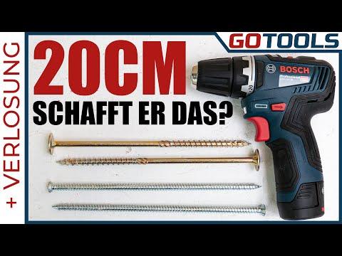 Kürzer☑️leichter☑️stärker☑️ Bosch GSR 12V-35 der beste 12V Akkuschrauber ❔ 🔔 inkl. Verlosung 🔔