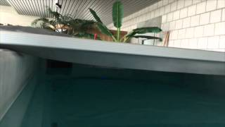 SPAFLEX - The Swimspa Automatic Safety Cover