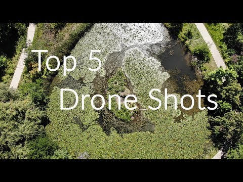 Top 5 drone shots you need in your videos.
