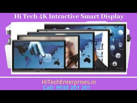 Hi Tech 4k Interactive Touch LED Display Evota