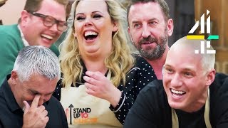 Video Most HILARIOUS Moments From Celeb Bake Off with Lee Mack, Alan Carr, Jamie Laing & More! MP3, 3GP, MP4, WEBM, AVI, FLV Agustus 2019