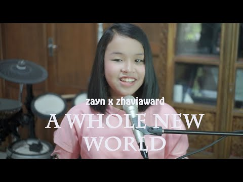 "ZAYN, Zhavia Ward - A Whole New World (End Title) (From ""Aladdin""/Official Video) Putri Cover"