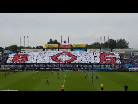 Patriotyczna oprawa podczas meczu Wisła Płock - Legia Warszawa