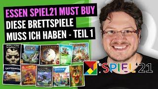 SPIEL21 Must Buy Liste Teil 1 | 25 Spiele, auf die ich mich freue